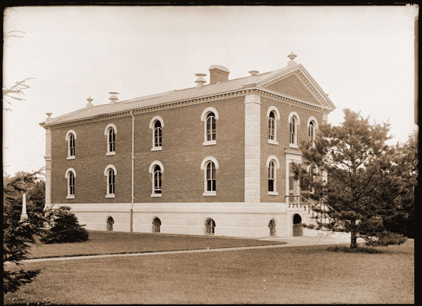 Image of View of the Museum Building looking to the east.  PRINT AVAILABLE -- SEE PHO 1982-0035 and PHO 2006-2735.
