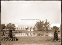 Image of View of the Palm House looking to the west.  PRINT AVAILABLE -- SEE PHO 1982-0091, PHO 2006-3027.