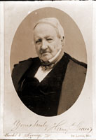 Image of Photograph of 1887(?) portrait of Henry Shaw.