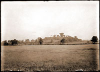Image of Monksmound also known as Cahokia Mounds located in St. Clair County, Illinois.