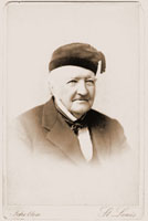 Image of Portrait card of Henry Shaw wearing cap, c.1885?