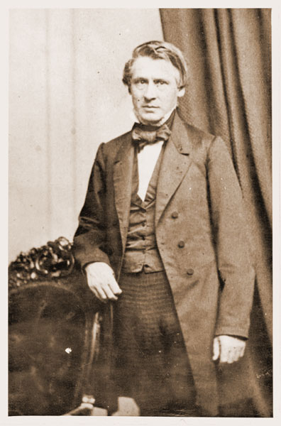 Image of Portrait of Asa Gray standing.