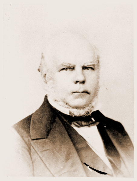 Image of Portrait of Dr. George Engelmann taken in 1860.