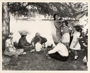 Image of Arboretum (Gray Summit) Ferguson group at Arboretum - Oct. 6, 1963.