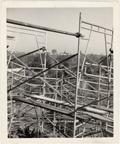 Image of Climatron Construction.  Scaffolding