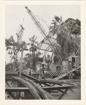 Image of Climatron Construction - Summer-Fall 1959