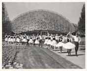 Image of Climatron Exterior II.  Ca. 1966-1970.