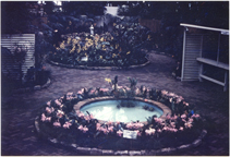 Image of Floral Display Hall in 1960.  Print gift of Richard Smith Belleville, Ill.