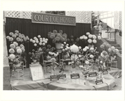 Image of Dahlia Society Show Sept. 1978.  Court of Honor display.  Same as PHO 2005-0440.