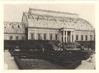 Image of Exterior of Main Conservatory.