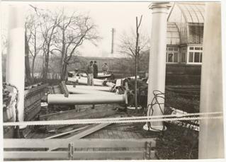 Image of Storm damage 1950s.