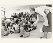 Image of School children.  Education ca. 1981.