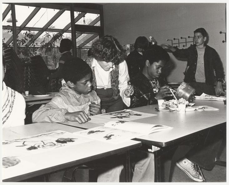 Image of Magnet School Program.  Stix-Sumi-e