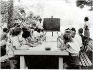 Image of Education.  Pitzman Nature program. 1960s.