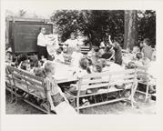 Image of Education.  Children's Summer Program.  Bird program.  Similar to PHO 2005-0897