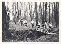 Image of Engelmann Botanical Club.  April 1971.  Arboretum
