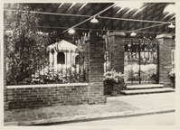 Image of A Southern Azalea Garden.  Arena, 5700 Oakland Avenue.  1940.  Mounted with PHO 2006-0409.
