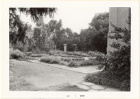 Image of Herb Garden, Tower Grove House.  Mounted with PHO 2006-0969, PHO 2006-0970, PHO 2006-0971.
