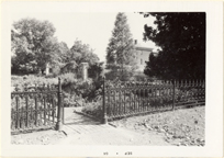 Image of Herb Garden, Tower Grove House.  Mounted with PHO 2006-0968, PHO 2006-0970, PHO 2006-0971.