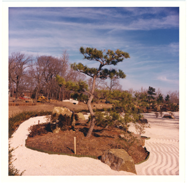 Image of Japanese Garden, Excavation/Construction.  Dry Garden