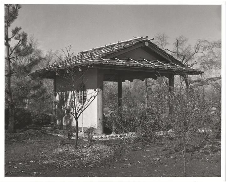 Image of Plum Viewing Arbor.  Japanese Garden.  Same as PHO 2006-1780