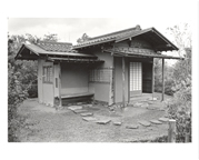 Image of Japanese Garden.  Teahouse.