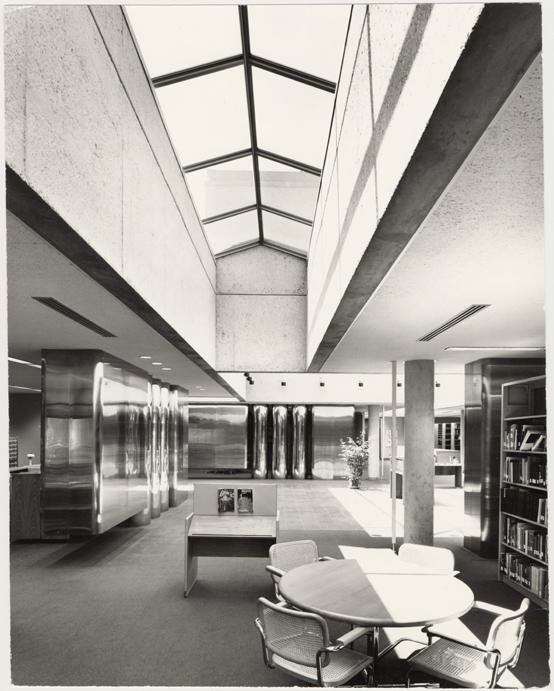Image of John S. Lehmann Building.  Skylight.