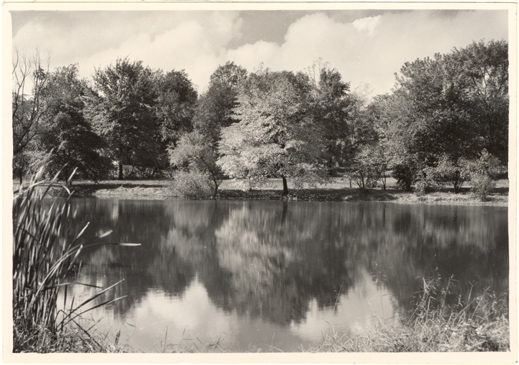 Image of Lake in North American Tract.  Same as PHO 2006-2789.  Mounted with PHO 2006-2787.
