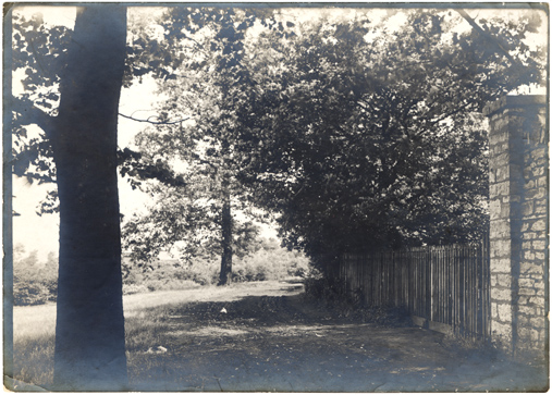 Image of North American Tract.  Fence and stone wall.