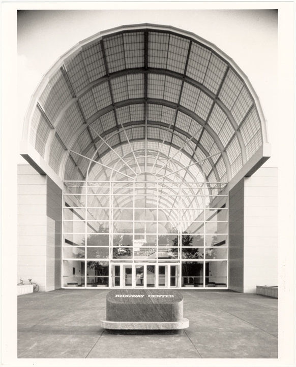 Image of Ridgway Center, exterior.  North entrance.