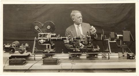 Image of First time lapse camera.  Arthur Pillsbury.