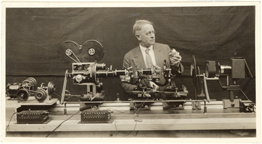 Image of First time lapse camera.  Arthur Pillsbury.