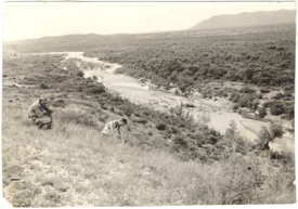 Image of Research expedition.  Possibly Mexico.