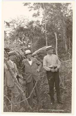 Image of George Pring, George T. Moore, Charles W. Powell.