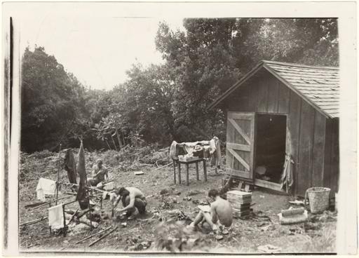 Image of Field accomodations.  The camp at Casa Alta. Summer of 1937.   Flora of Panama.  Annals Mo. Bot. Gard. 26(4): Plate 19 (Nov. 1939).  Negative available at PHO 2007-0350