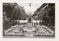 Image of Bulb Show, 1930.  Floral Display House.  Mounted with PHO 2007-0962.