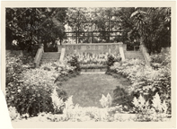 Image of Spring Flower Show, 1931.  Mounted with PHO 2007-0963.