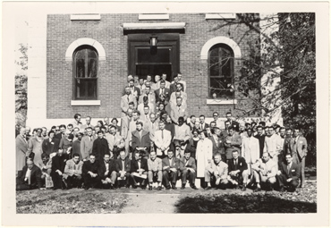 Image of Systematics Symposium, November 4 and 5, 1955.  Negative available at PHO 2007-1059.