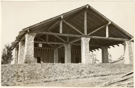 Image of Arboretum Trail House.