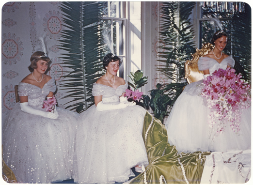 Image of Queen's Reception for St. Louis school children.  Queen, Barbara Anne Whittemore.