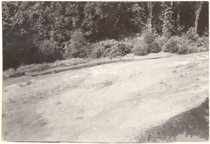 Image of Erosion Control at West Bridge.  Mounted with PHO 2007-1907, PHO 2007-1909, and PHO 2007-1910.  Bulletin, Vol. 42, May 1944.