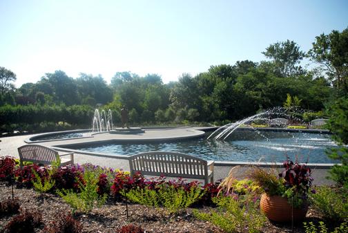 Image of George Washington Carver Garden, Missouri Botanical Garden.