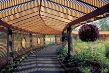 Image of Walkway at the Kemper Center for Home Gardening.
