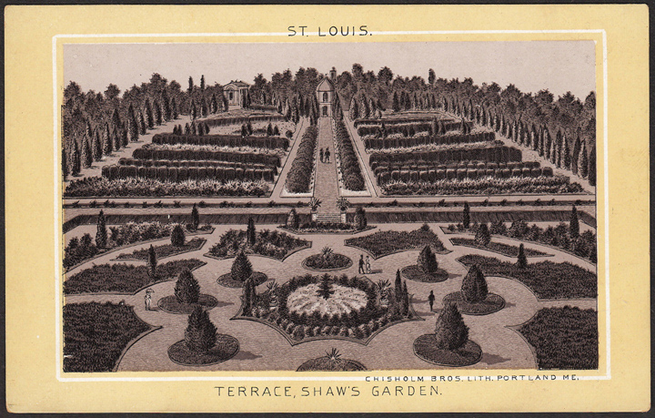 Image of Lithograph showing the