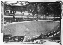 Image of The Garden held its first floral display shows in the 1890s at the St. Louis Exposition and Music Hall. These early shows featured Chrysanthemums and would later move to Garden grounds in 1905. Located at Olive and 13th Street the St. Louis Exposition and Music Hall operated between 1883-1907 and was demolished to make way for the St. Louis Central Library which stands today at the downtown location.