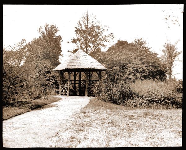 Image of Gazebo located in the Arboretum.