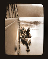 Image of First landing party, British Columbia.  Harriman Alaska Expedition, 1899