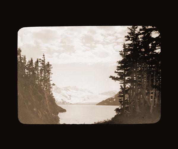 Image of Harriman Glacier.  Harriman Alaska Expedition, 1899.  Curtis photographer.