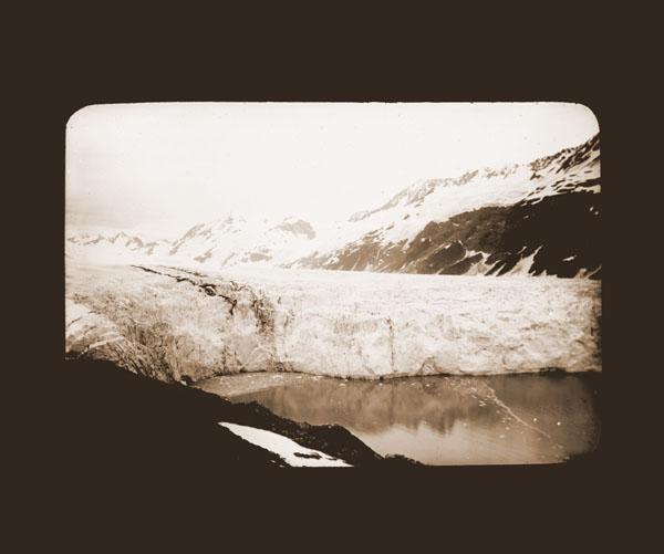 Image of Harriman Glacier.  Harriman Alaska Expedition, 1899.  Curtis photgrapher.