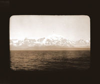 Image of Mt. Fairweather.  Harriman Alaska Expedition, 1899.  Curtis photographer.